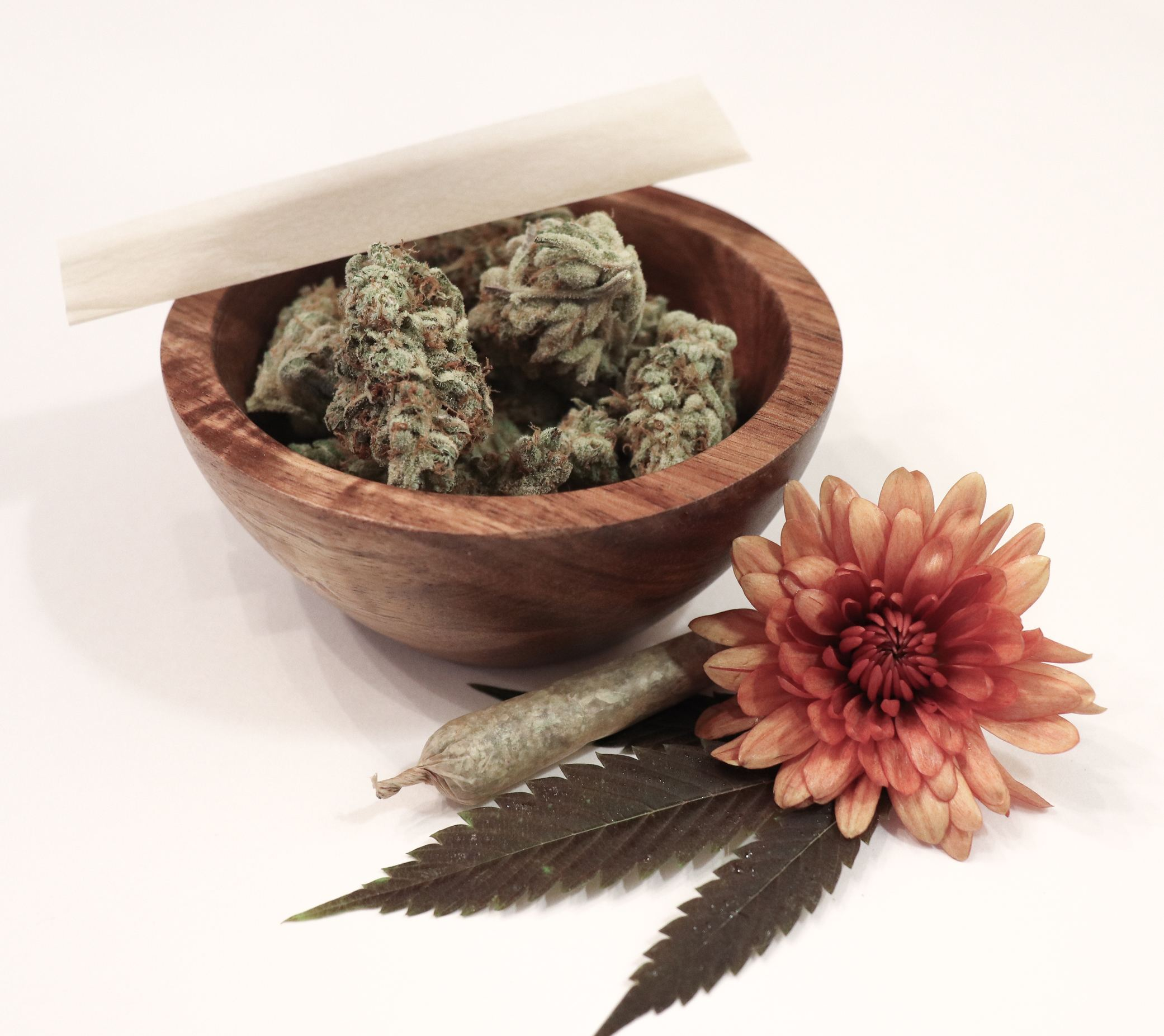 Terpenes occur in cannabis and flower petals