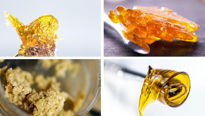 resin dab cannabis wax oil