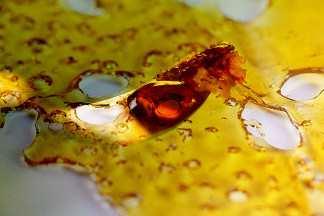 resin dab cannabis wax oil