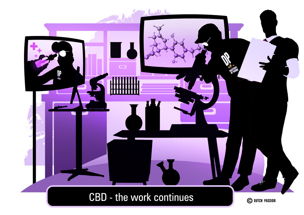 cbd - the work goes on