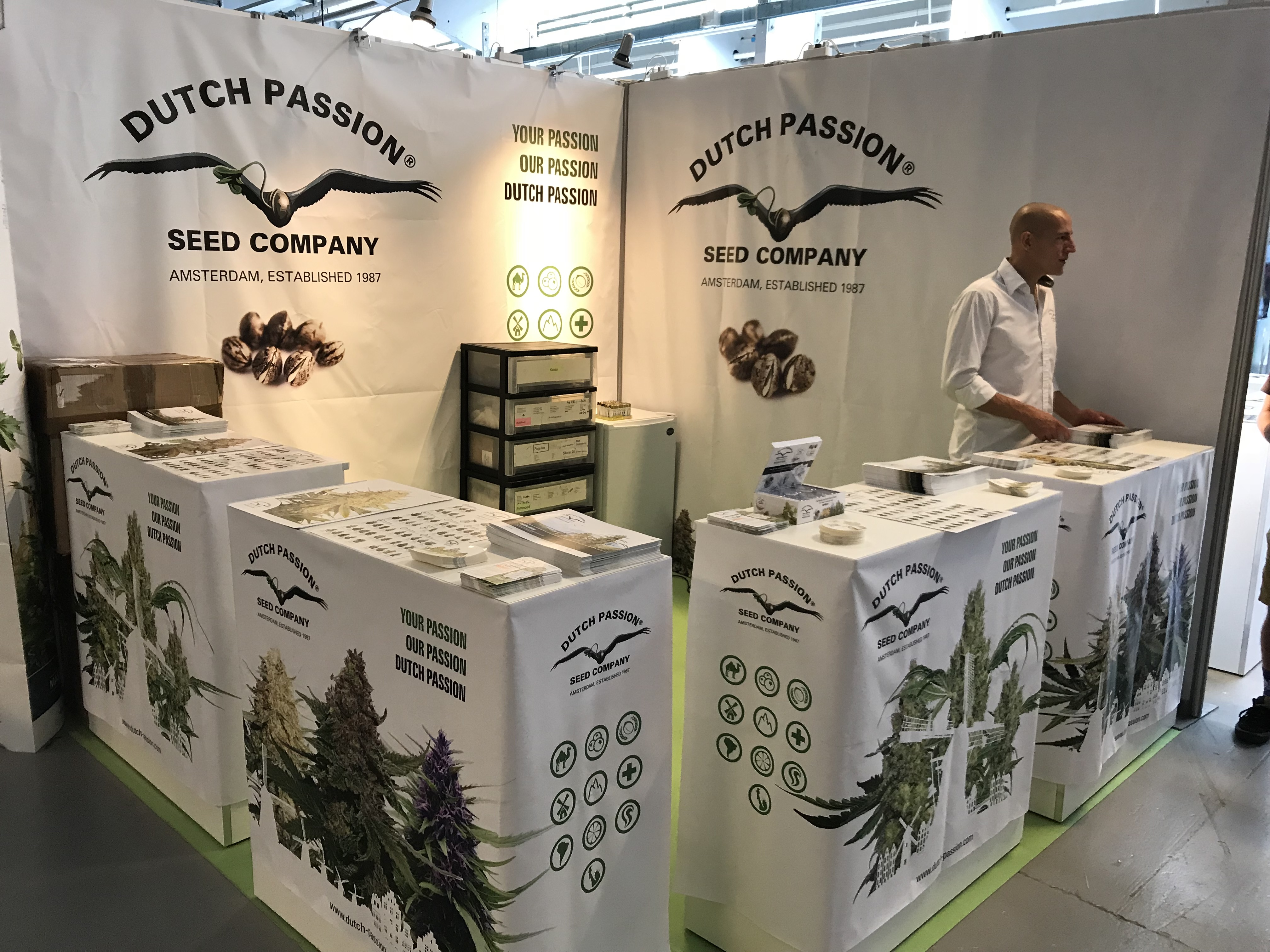Dutch Passion stand at North Grow 2018