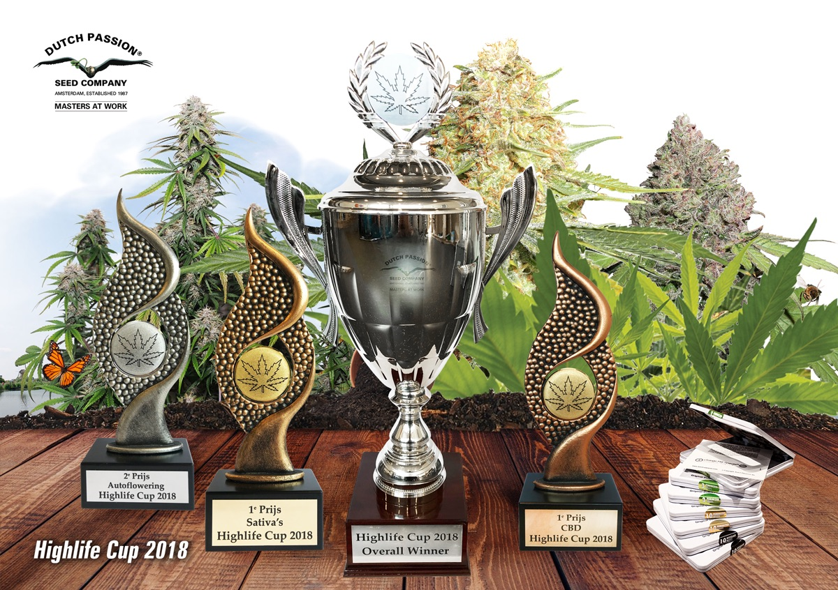 All Dutch Passion Highlife cups 2018