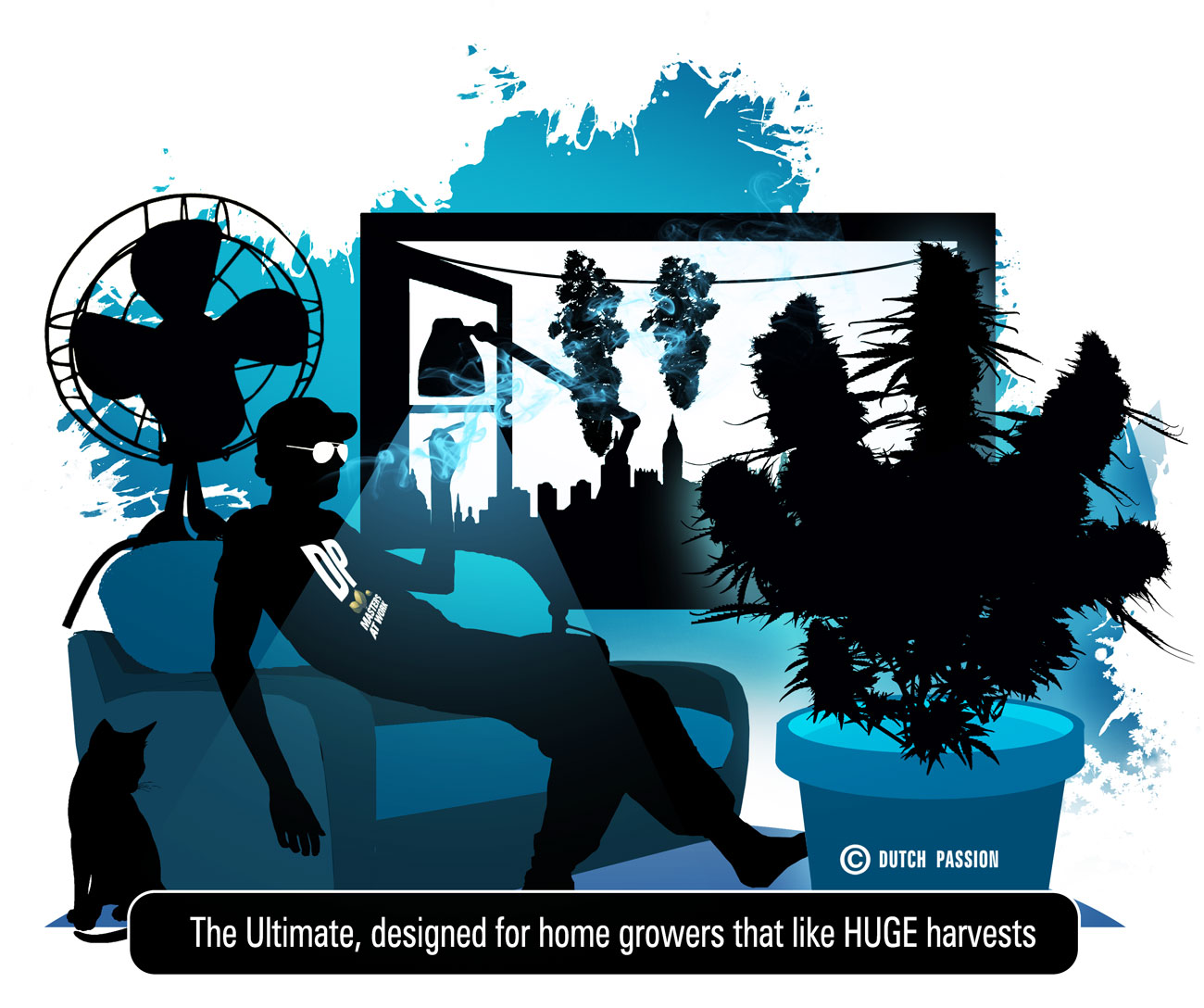 cartoon of the ultimate, the home growers dream