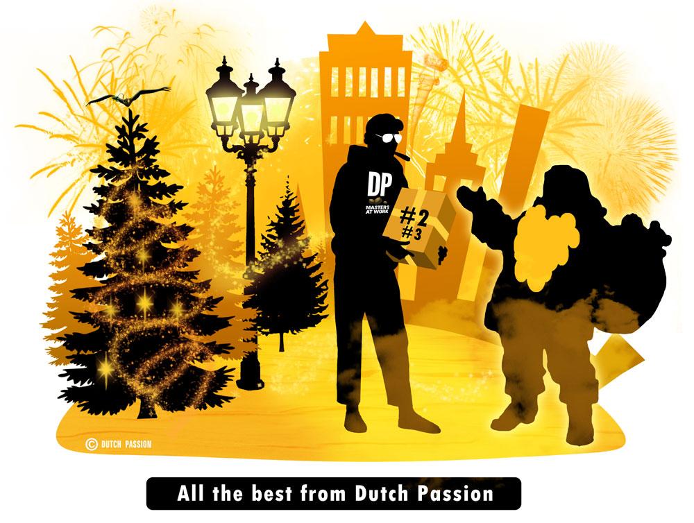 Dutch Joe and santa