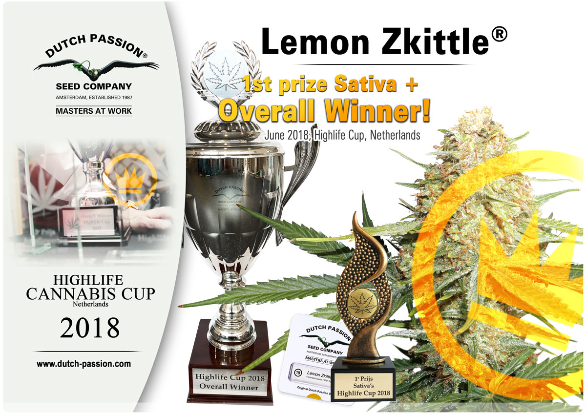 Lemon Zkittle winner Highlife Cup 2018