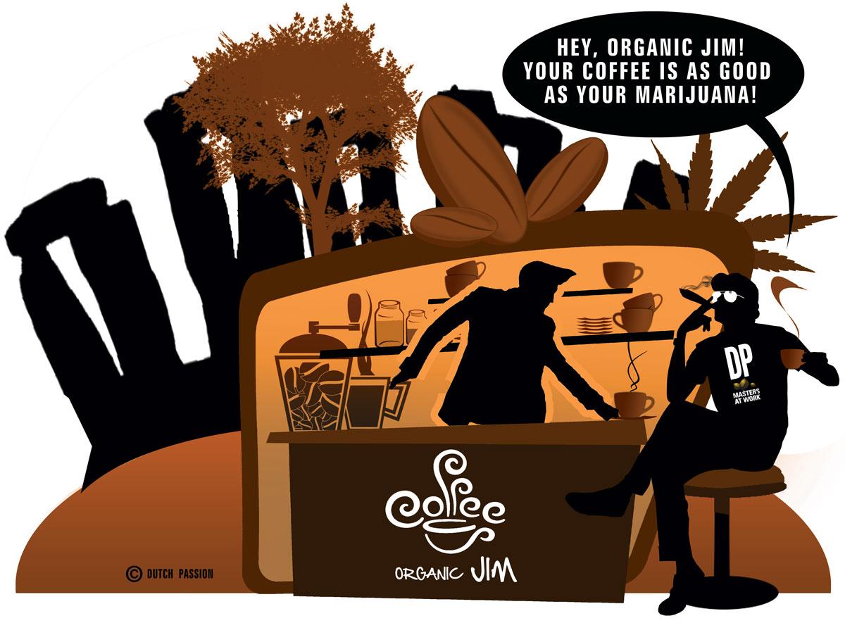 Organic Jim Cartoon