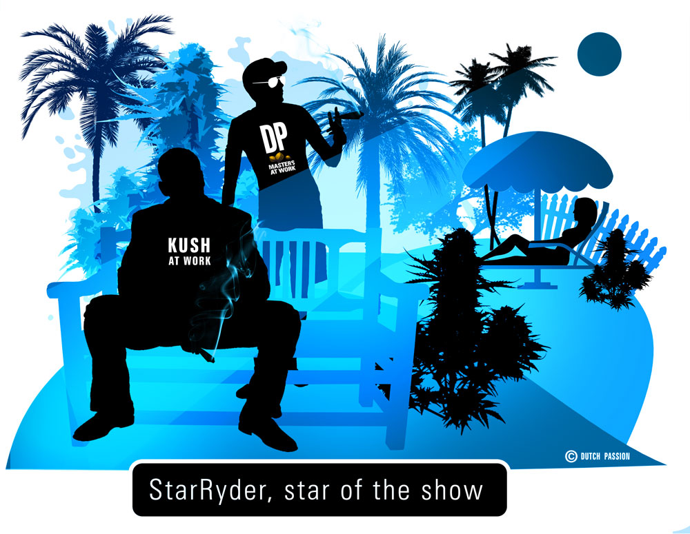 starryder cartoon, the star of the show baby!