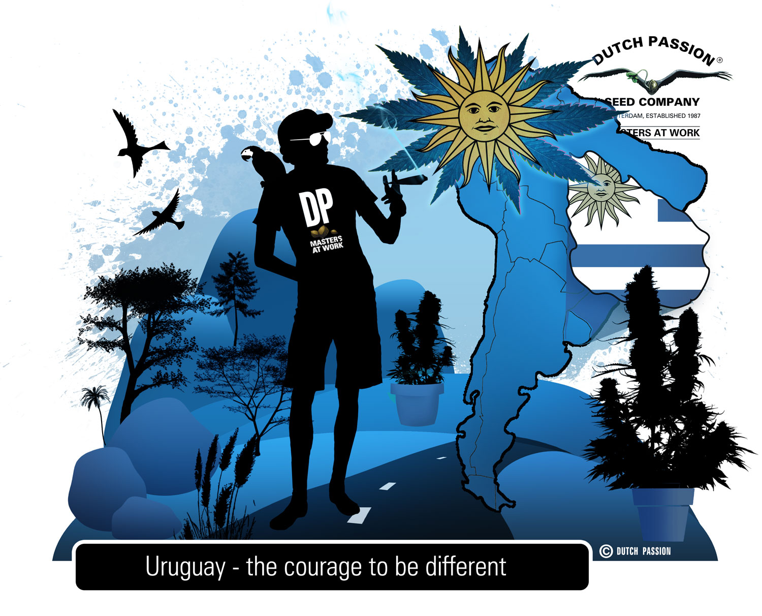 the legalization of marijuana in urugauy Uruguay became the first country to legalize the growing, sale and smoking of marijuana on tuesday, a pioneering social experiment that will be closely watched by other nations debating drug.