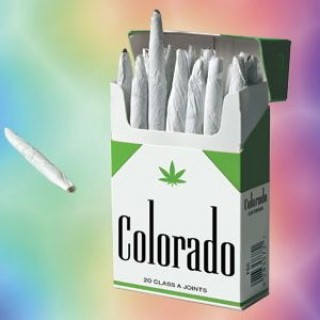box of pre-rolled colorado joints