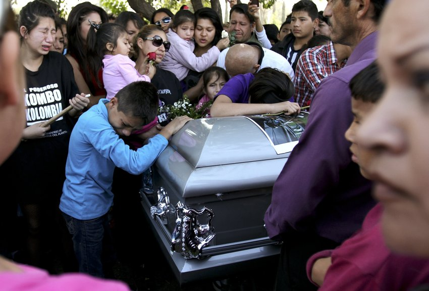 mexican funeral of another victim of the war on drugs