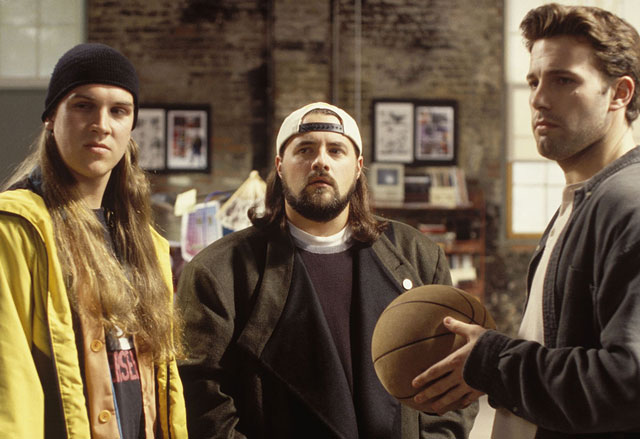 Dope dealing stars Jay and Silent Bob strike back