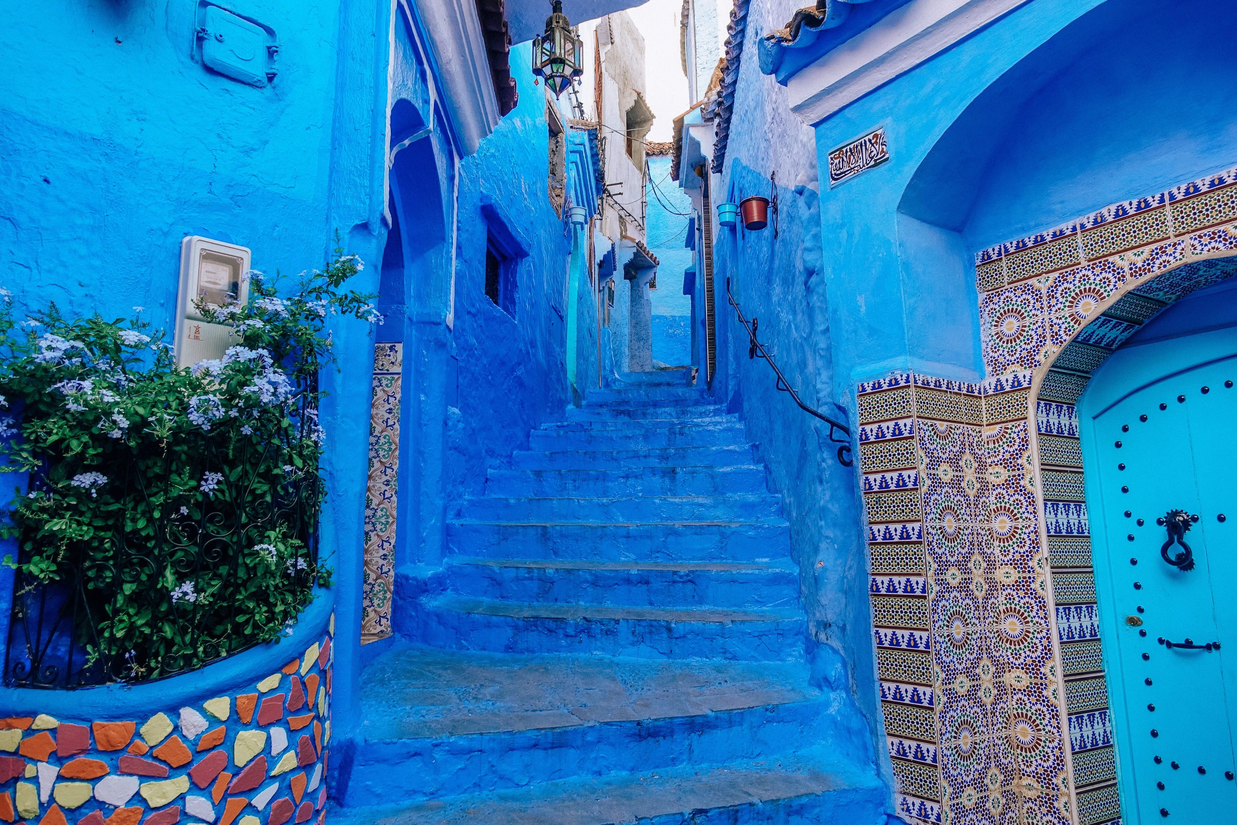 Distretto blu in Marocco