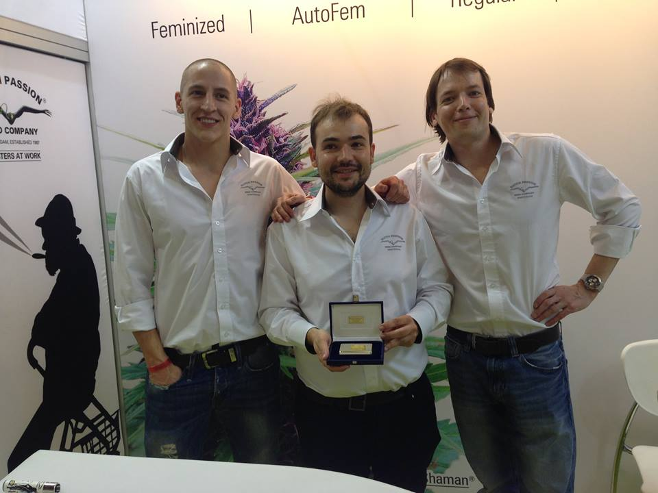 best seed bank award for Dutch Passion