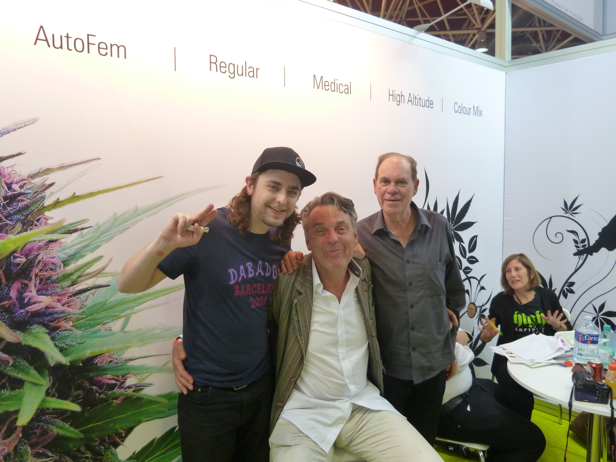 clark french, henk and ed rosenthal