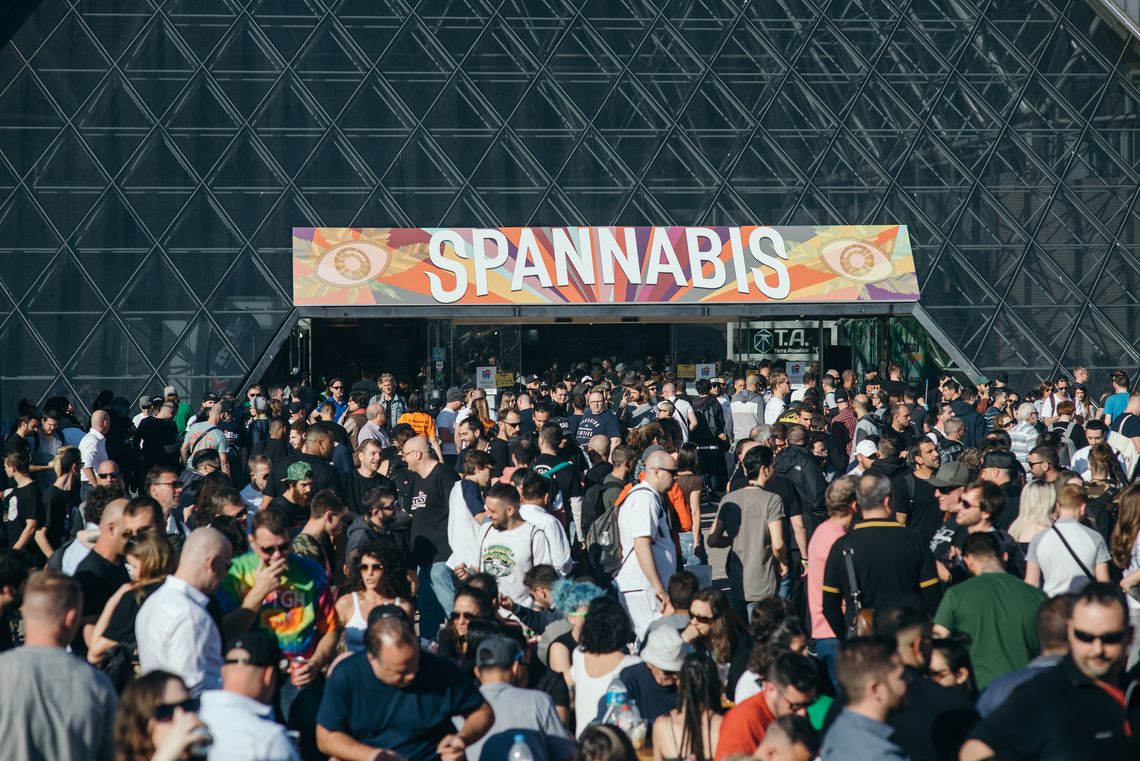 Spannabis was busy