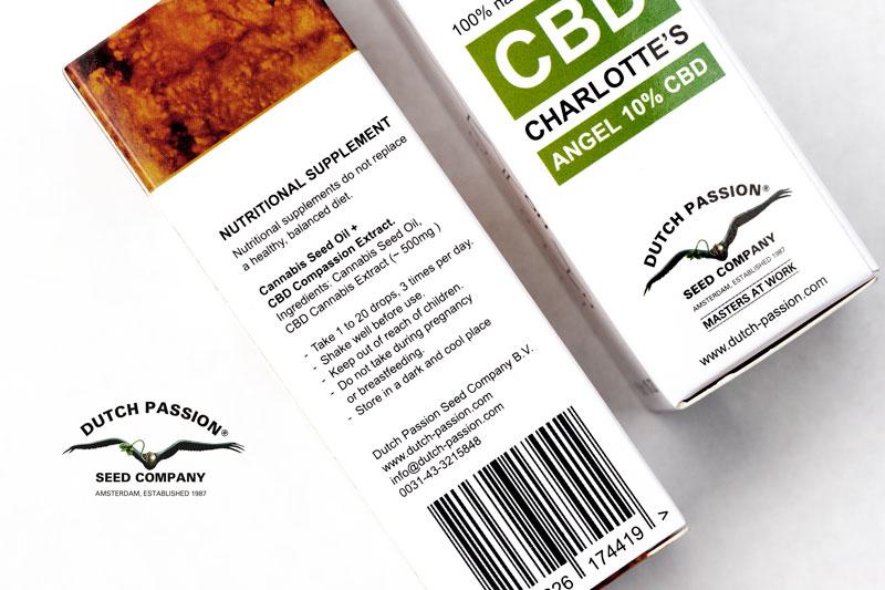 Dutch Passion CBG oil 5% | Dutch Passion